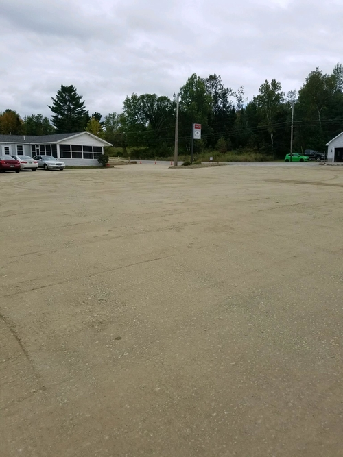 Resurface parking lot