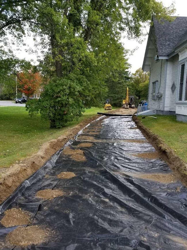 Driveway Improvement in Lancaster, NH